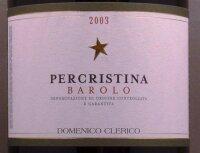 Domenico Clerico  Barolo  Percristina 2007