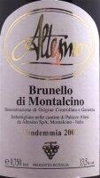 Altesino  Brunello  di Montalcino Riserva 1990