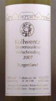 Kollwentz  Welschriesling  Beerenauslese 2007
