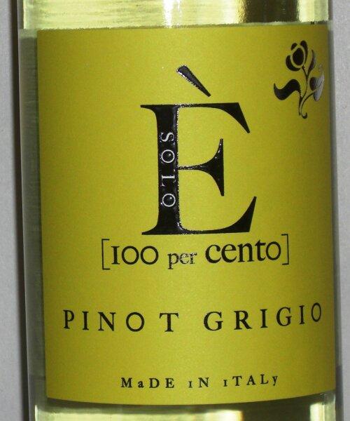 Pinot Grigio  Delle Venezie 100 per Cento 2018
