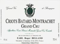 Roger Belland Criots Batard-Montrachet Grand Cru 2017